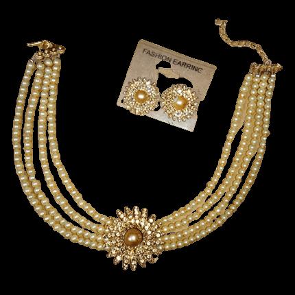 Golden Chokar set